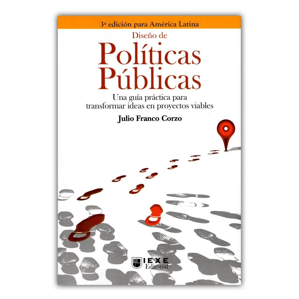 Comprar libro Diseño de políticas públicas. Una guía práctica para ...