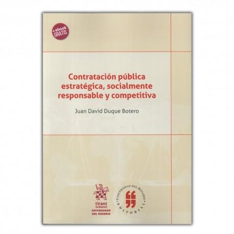 Contratación pública estratégica, socialmente responsable y competitiva