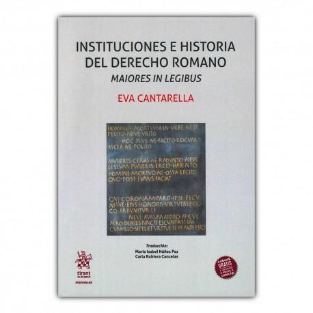 Instituciones e historia del derecho romano