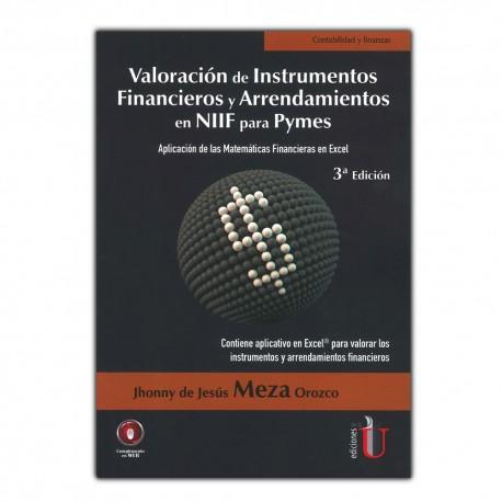 Valoración de instrumentos financieros y arrendamientos en NIIF para Pymes