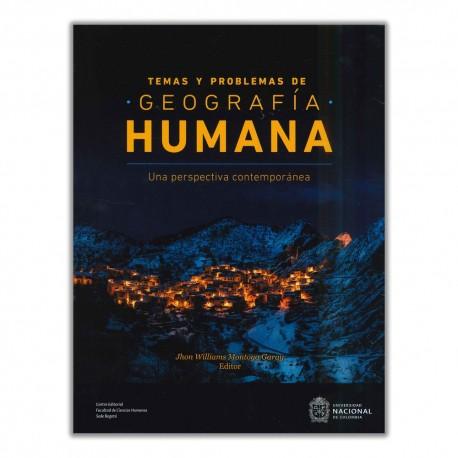 Temas y problemas de geografía humana
