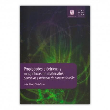 Propiedades eléctricas y magnéticas de materiales: principios métodos de caracterización