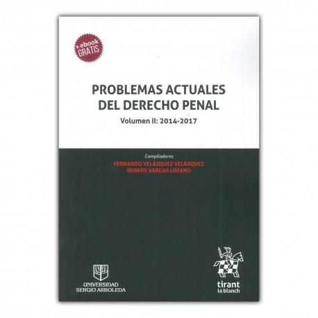 Problemas actuales del derecho penal