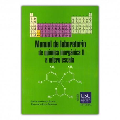 Manual de laboratorio de química inorgánica II a micro escala