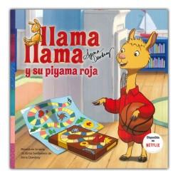 La llama llama y su pijama roja