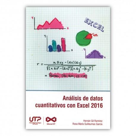 Análisis de datos cuantitativos con Excel 2016