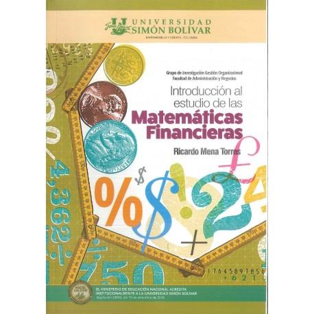 Introducción al estudio de las matemáticas financieras