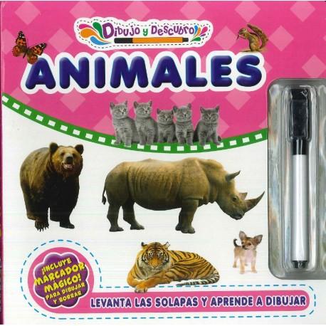 Dibujo y descubro animales