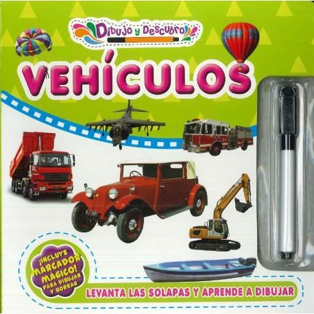 Dibujo y descubro vehículos
