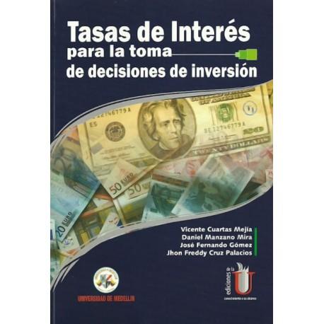 Libro Tasas de interés para la toma de decisiones de inversión
