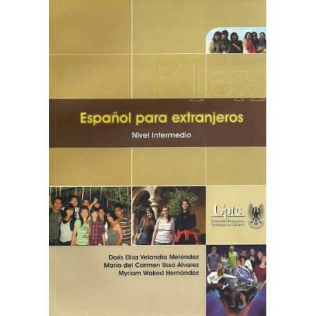 Libro Español para extranjeros. Nivel intermedio. Incluye CD