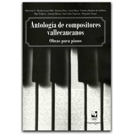Comprar libro Antología de compositores vallecaucanos, obras para piano