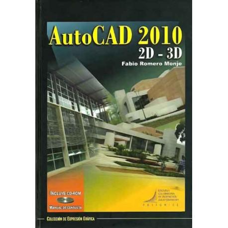 Libro AutoCAD 2010 2D-3D. Incluye CD