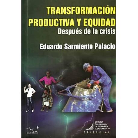 Libro Transformación productiva y equidad. Después de la crisis