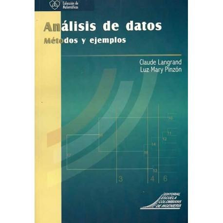 Libro Análisis de datos. Métodos y ejemplos