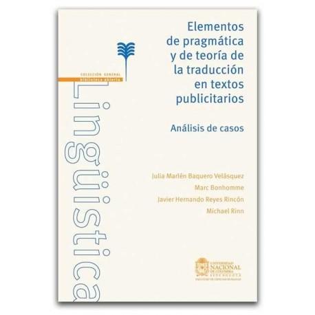 Elementos de pragmática y de teoría de traducción en textos publicitarios - Universidad Nacional de Colombia, Sede Bogotá. Facu