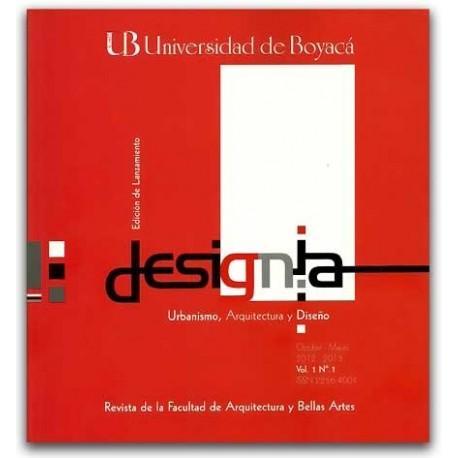 Designia. Urbanismo, arquitectura y diseño - Universidad de Boyacá