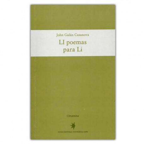 LI poemas para Li - John Galán Casanova - Universidad EAFIT