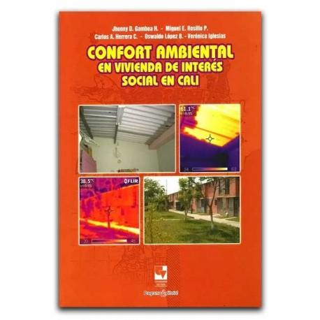 Libro Confort ambiental en vivienda de interés social en Cali