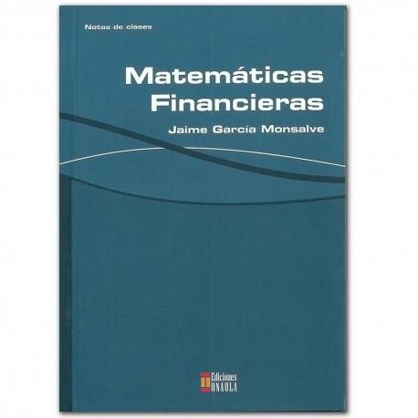 Matemáticas financieras – Jaime García Monsalve – Ediciones UNAULA