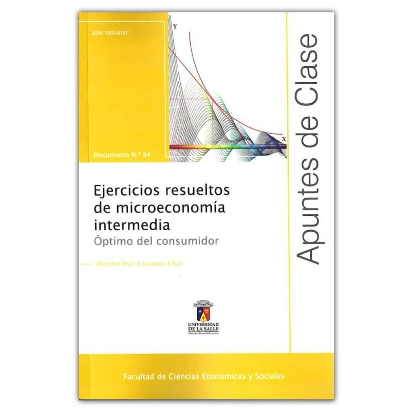 Comprar libro Ejercicios resueltos de microeconomía