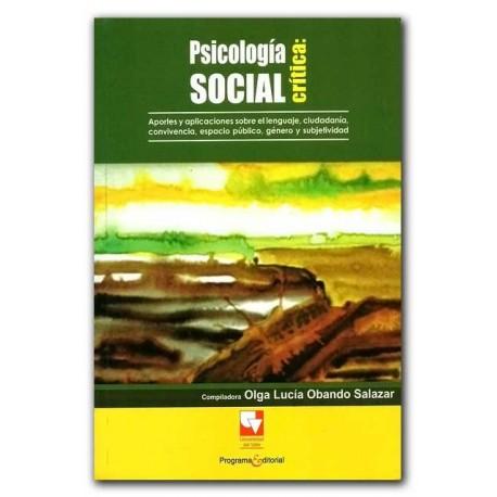 Caratula Psicología social crítica: aportes y aplicaciones