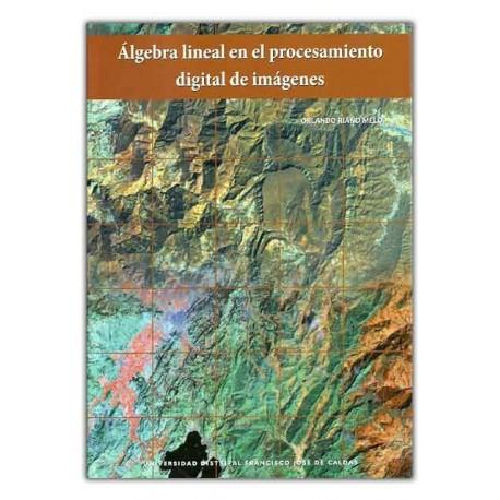 Caratula Álgebra lineal en el procesamiento digital de imágenes