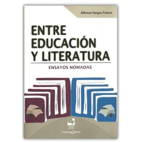Caratula Entre educación y literatura