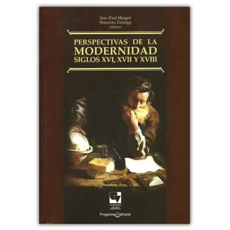 Caratula Perspectivas de la modernidad siglos XVI, XVII, XVIII