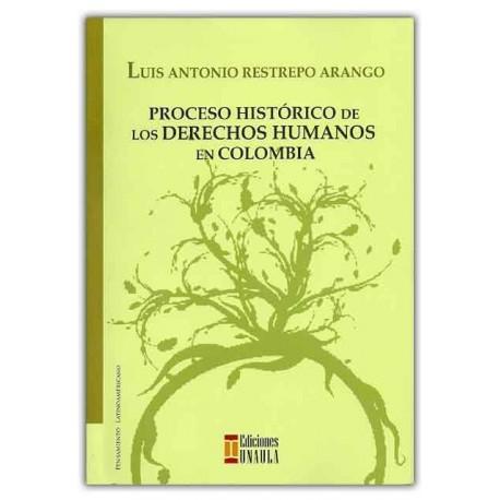 Caratula Proceso histórico de los derechos humanos en Colombia