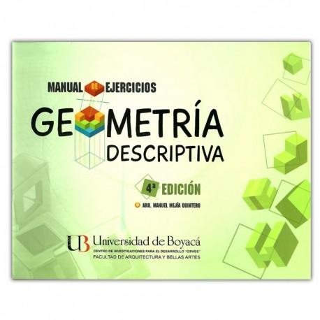 Geometría descriptiva. Manual de ejercicios 4 edición