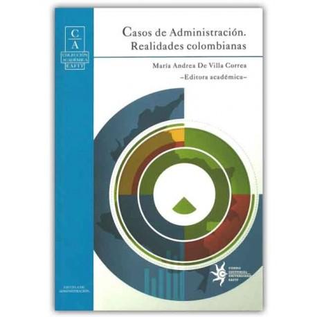 Caratula Casos de Administración. Realidades colombianas