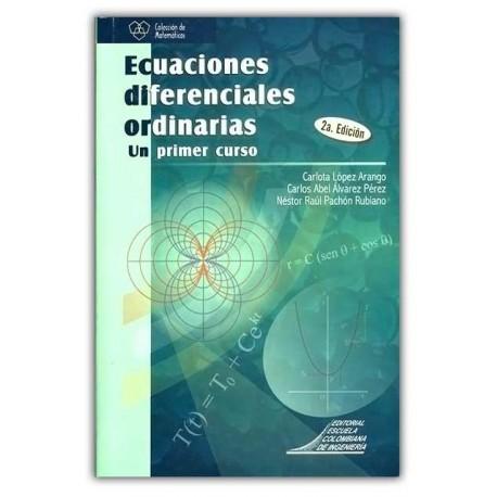 Caratula Ecuaciones diferenciales ordinarias. Un primer curso