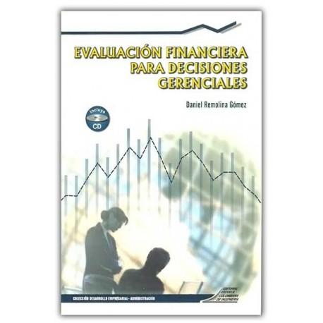 Caratula Evaluación financiera para decisiones gerenciales