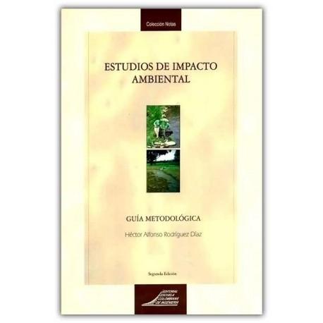 Caratula Estudios de impacto ambiental. Guía metodológica