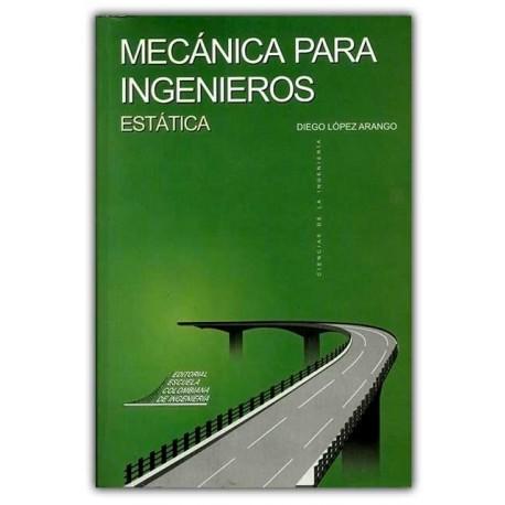 Caratula Mecánica para ingenieros. Estática