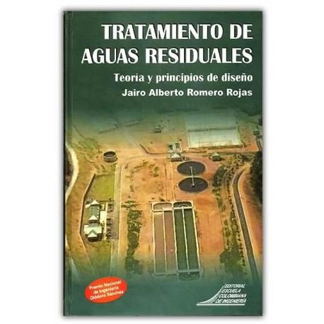 Caratula Tratamiento de aguas residuales. Teoría y principios de diseño