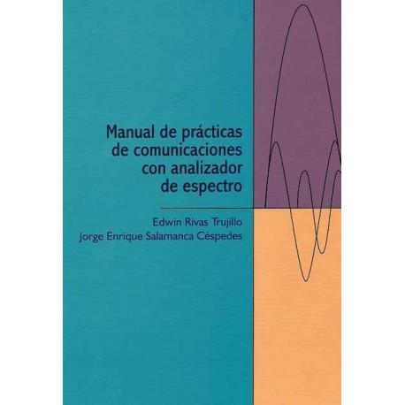 Caratula Manual de prácticas de comunicaciones con analizador de espectro