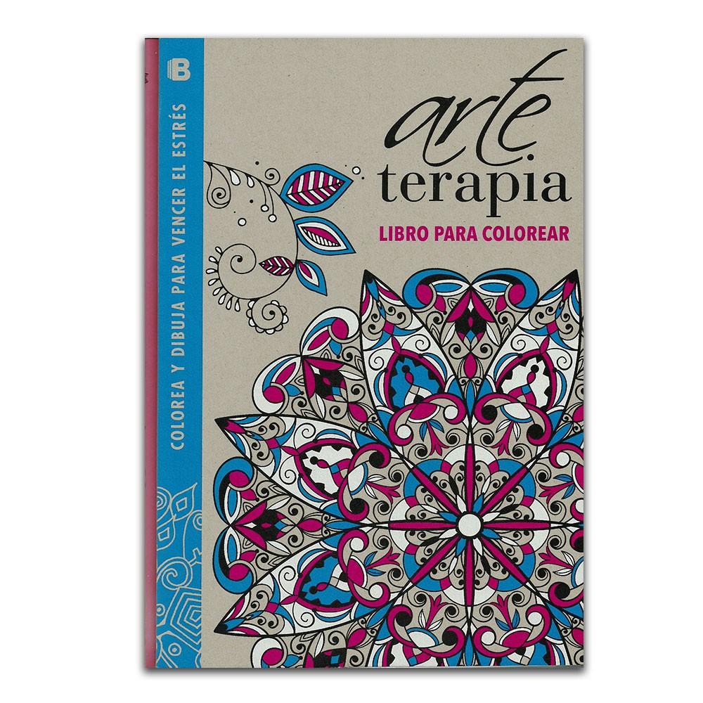 Comprar libro Colorea y dibuja para vencer el estrés. ArteTerapia ...
