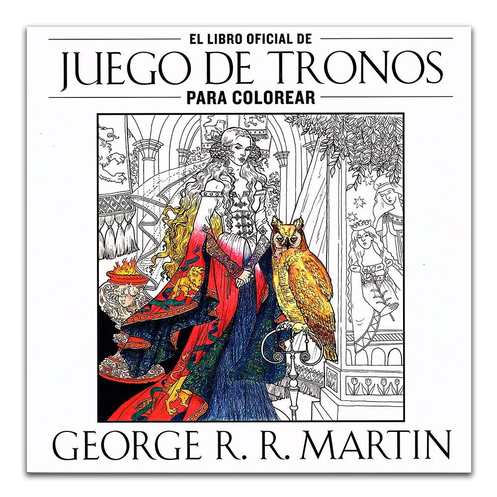 Comprar libro El libro oficial de Juego de Tronos para colorear