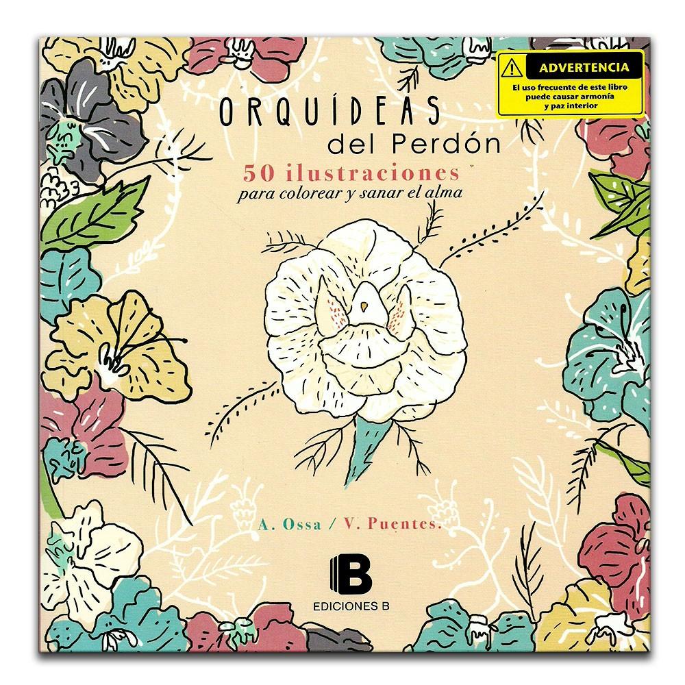 Comprar libro Orquídeas del perdón. 50 ilustraciones y sanar el alma