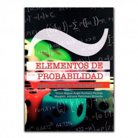 Resultado de imagen para Elementos de probabilidad: apoyo al estudio independiente. - Primera edición