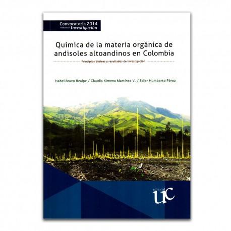 Química de la materia orgánica de andisoles altoandinos en Colombia