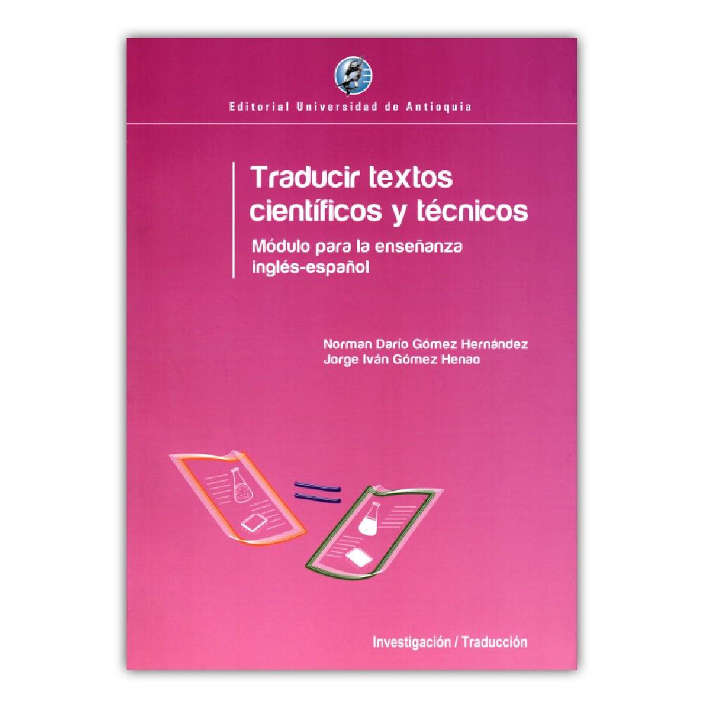 Comprar libro Traducir textos científicos y técnicos
